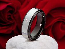 Modeschmuck-Ringe im Ehering-Stil aus Wolfram