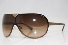 POLICE Mens Designer Sunglasses Gold Shield S8827 COL 08L7 13393
