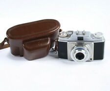 Agfa Silette Prontor-SVS 35mm film camera with Apotar 45mm 1:3.5 Lens and case
