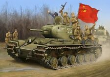 Soviet KV-1S Heavy Tank 1:35 Plastic Model Kit TRUMPETER