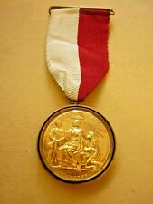 More details for vintage hallmarked silver gilt masonic charity jewel duke of sussex c1967