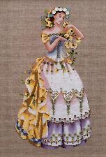 Cross Stitch Chart / Pattern ~ Mirabilia The Blossom Harvest Woman #MD60