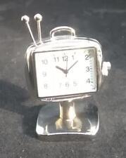Retro Television Clock No 2  with Book