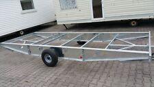 Chassi für Mobilheim  Rahmen Fahrgestell Achse Deichsel Wohnwagen Wohncontainer