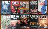 Powers TPB Lot 1 2 3 4 5 6 7 8 9 10 Bendis Oeming Image Marvel Icon