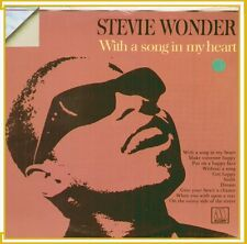 "STEVIE WONDER WITH A SONG IN MY HEART"" LP SIGILLATO ORIZZONTE RICORDI ITALY"