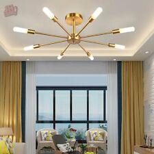 Modern Sputnik Chandelier Frosted GlassBranching Ceiling Pendant Light Fixtures