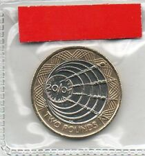 GREAT BRITAIN £2 pound coin 2001 100th Anniversary Marconi Wireless Transmission