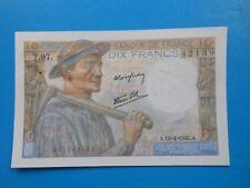 10 francs mineur 19-4-1945 F8/13 SPL