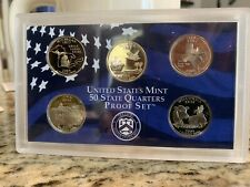 2004 United States Mint 50 State Quarters Silver Proof Set