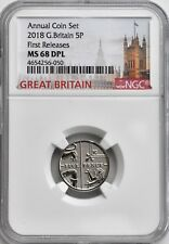 More details for 2018 5p five pence ngc ms68 dpl great britain coin uk top population