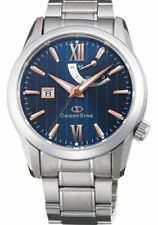 ORIENT STAR WZ0351EL Mechanical Jewels Automatic Watch Blue From JAPAN