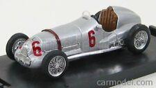 Brumm r070 scala 1/43 mercedes benz f1 w125 n 6 1937 silver
