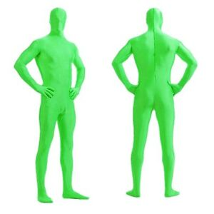 DH Zentai Suit Men's  Women's Spandex Halloween Full Body Costume