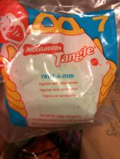 New Sealed McDonalds Nickelodeon Tangle Twist A Zoid Figurine Happy Meal Toy