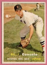 1957 Topps Billy Consolo #399 (ex) (corner wear/but no creases) Boston Red Sox