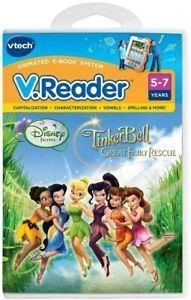 This is a Disney Fairies Vtech V. Reader Software Tinkerbell and the Great Fairy