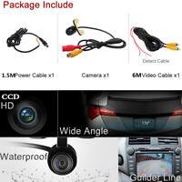 170° Retrocamera CCD Telecamera Retromarcia Auto Parcheggio Camera Night Vision