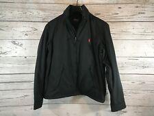 Polo Ralph Lauren Mens Black Hooded Winter Jacket Coat Windbreaker Large NWT