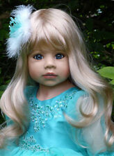 "Masterpiece Dolls * Lovely Blonde Jasmine * 39 "" Doll by Monika Levenig"