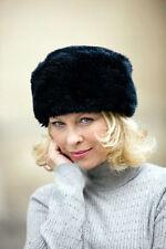 Gorras y sombreros de mujer de color principal negro de poliéster