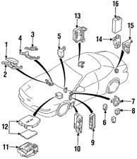 Genuine Ford Inertia Switch XF3Z-9341-AA