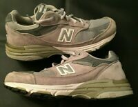 WOMENS NEW BALANCE MADE IN THE USA GREY SUEDE RUNNING SHOES WR993GL SZ 7.5 B