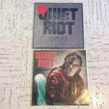 Quiet Riot Metal Health And QR III LPs