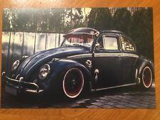 Tin Sign Vintage VW beetle 1