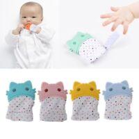 Silicone Baby Newborn Pacifier Mitten Glove Candy Wrapper Sound Nursing Teether