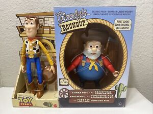 Toy Story Woody's Roundup Wood/Stinky Pete The Prospector Disney (In Hand)