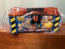 New Bob The Builder Build & Saw Toolbox Toy Tool Kit Playset