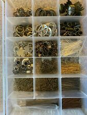 Jewelry Findings, Large Mixed Lot, Jewelry Chains, Earring Findings,