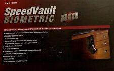 GunVault SBV 500 SpeedVault Biometric Fingerprint Wall Mount NEW
