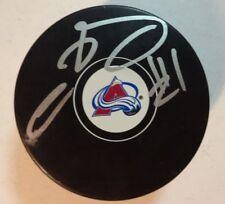 Autographed SEMYON VARLAMOV Signed Colorado Avalanche Hockey Puck