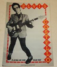 CP Elvis COSTELLO - Playing his way your way - Editions HUMOUR à la CARTE
