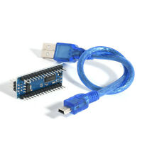 Mini USB Micro-controller Board 5V 16M Nano V3.0 ATmega328 CH340G Arduino Cable
