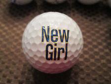 LOGO GOLF BALL-NEW GIRL......TELEVISION SHOW....PROV1 BALL