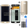 Lcd display Touch Screen Schermo Per Samsung Galaxy S7 edge G935F G935 Oro+Cover