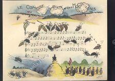 ROGER CARTIER illustration Chanson paillarde LE COMBAT DES POUX ET DES MORPIONS