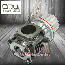 Universal 50mm 4-Bolt Turbo Manifold Wastegate Bypass Exhaust+12 PSI Spring