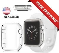 Series 2 Apple Watch Transparent Ultra Thin Hard Protective Case Cover 38mm 42mm
