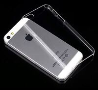 Cover dünn  Hülle Schale bumper Hard Case f. Apple iPhone 5 5S klar transparent
