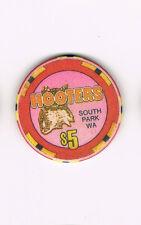 South Park WA Hooter's $5 Casino Chip