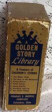 Vintage Little Golden Books Golden Story Library, 7 Books!  1949! English
