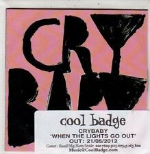 (DC122) Cry Baby, When The Lights Go Out - 2012 DJ CD