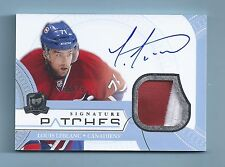 LUIS LEBLANC 2011/12 THE CUP SIGNATURE PATCHES 2 COLOR PATCH AUTOGRAPH /75