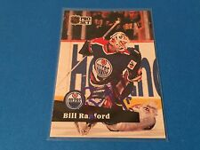 Bill Ranford  Oilers Stanley Cup 1990-91 Pro Set Signed Auto Card