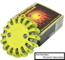 Led Powerflare Safety Light- Yellow Case with Red Leds; Other Colors Available