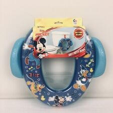 Disney Junior Mickey Mouse Soft Potty Seat Blue Soft Cushion with Handles